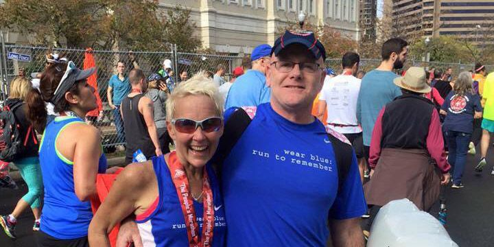 Diagnosed with a terminal disease, woman finishes her final marathon.