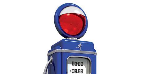 Automotive lighting, Amber, Azure, Electric blue, Cobalt blue, Machine, Gas, Automotive tail & brake light, Circle, Symbol,