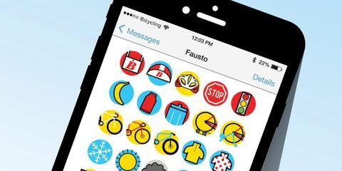 Bicycling Emoji