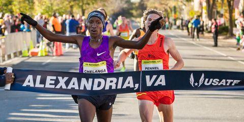 Sam Chelenga wins 2015 12K championships