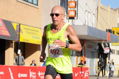 How a 60-Year-Old Recovers From Two Crazy Fast Marathons Three Weeks Apart