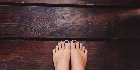 exercise your foot's hidden core