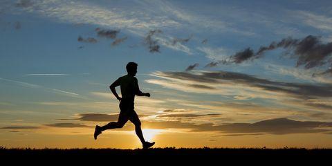 Running can help prevent PTSD.
