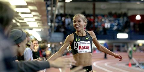 After missing much of 2015 to injury, Jordan Hasay resumes racing