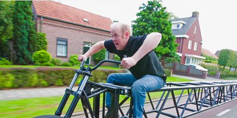 long bike: this 117-foot bike just earned a Guinness World Record