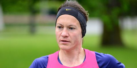 Women's masters world marathon record holder banned