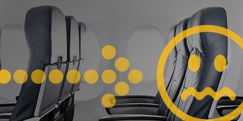 airplane seat recline