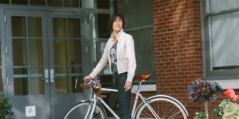 The Porteur is the first women's-specific product from Osloh Bicycle Jeans