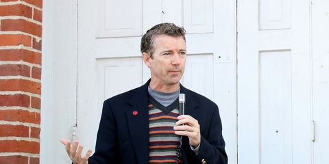 Kentucky Senator and presidential candidate Rand Paul