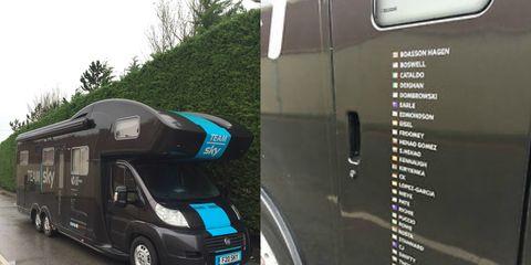 Team Sky Van for Sale