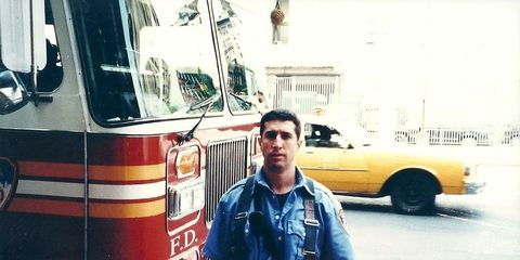 Vincent Giammona, a New York City firefighter, died at the World Trade Center on September 11.