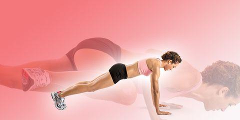 Human leg, Elbow, Pink, Knee, Waist, Wrist, Thigh, Physical fitness, Abdomen, Exercise,
