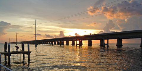 Part of the Ragnar Relay Florida Keys course