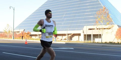 Road, Infrastructure, Human leg, Recreation, Asphalt, Sports uniform, Athletic shoe, Endurance sports, Sportswear, Running,