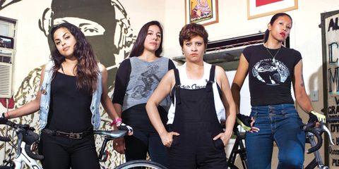 The Ovarian Psycos Cycles began in 2010 to promote friendships, healthy exercise habits, and leadership skills.