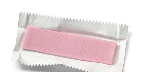 chewing gum bad for abs