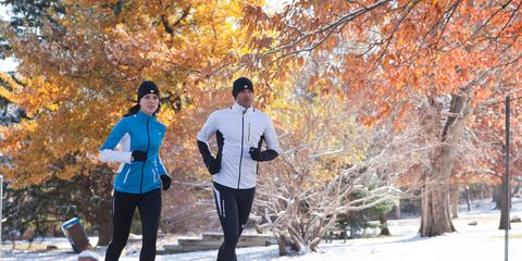 Leg, Winter, Trousers, Recreation, Deciduous, Leaf, Tree, Outerwear, Running, Outdoor recreation,