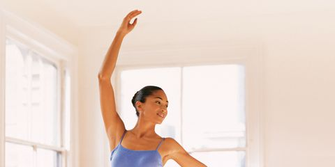 Get a dancer's body with this toning workout