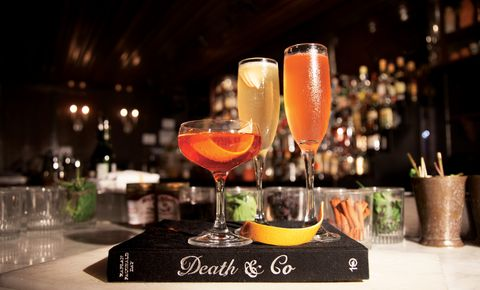 The Best Champagne Cocktails to Enjoy as the Ball Drops