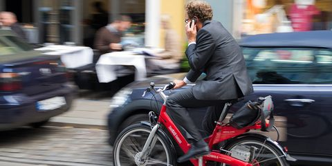 Can you get a ticket for riding and texting or talking on the phone?