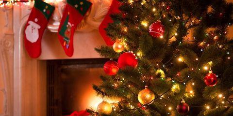 Event, Red, Christmas decoration, Christmas ornament, Holiday, Christmas tree, Interior design, Christmas eve, Christmas, Carmine,