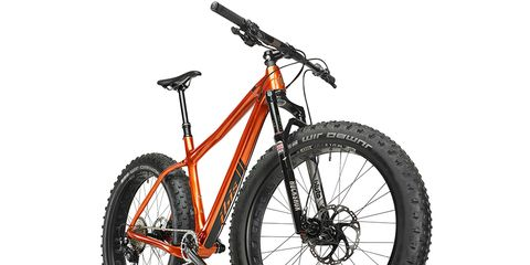 The sliding and removable rear triangle of Ibis' 29er hardtail sped up development of their first fat bike