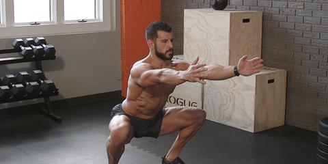 bj gaddour bodyweight back squat