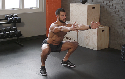 Screw the Gym! Do This Lower-Body Workout Anytime, Anywhere