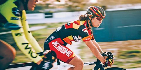 Celso, 27, won the inaugural women's Red Hook Crit in 2014, three years after battling cancer.