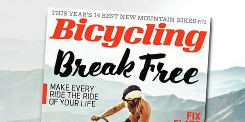 July 2015 Bicycling Magazine Cover