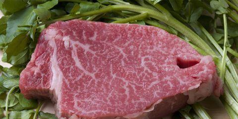 raw kobe beef