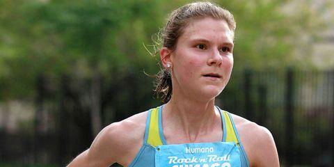 Olympic Marathon Trials contender Lindsey Scherf