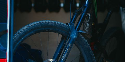 The RXF 34 is the first Ohlins suspension fork for mountain bikes available to the public