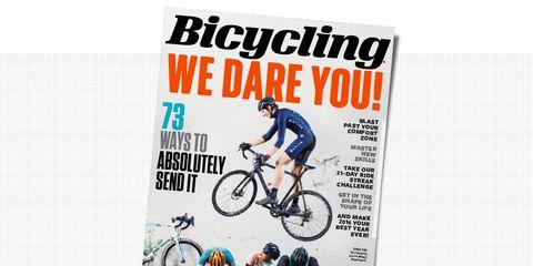 Jan/Feb Issue Bicycling Magazine