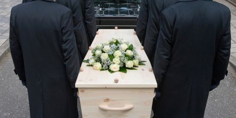 wifes funeral