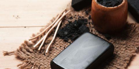 charcoal bar of soap