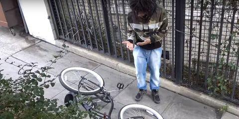 Electric Bike Prank