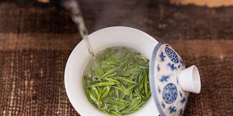 too much green tea