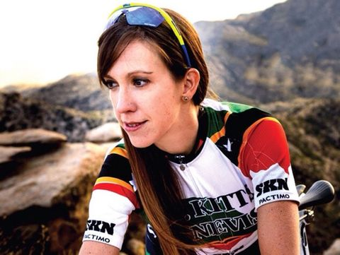 Kathryn Bertine Is Committed to Women's Cycling