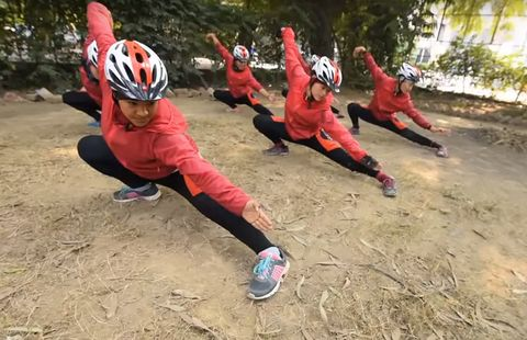 These Kung Fu Nuns Are Saving the World by Bike