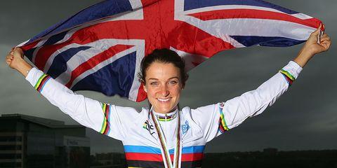 2015 World Road Champion Lizzy Armitstead