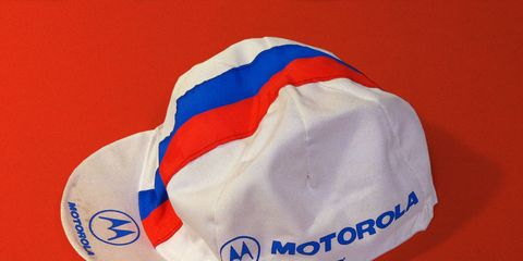 Motorola Giordana cycling cap