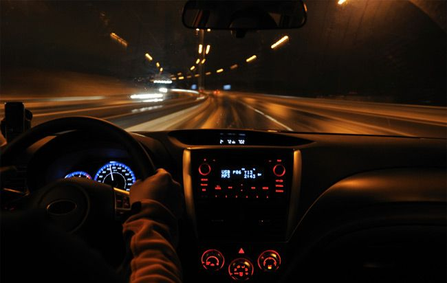 why your vision is blurry when you drive at night men s health
