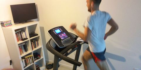 RJR on a treadmill