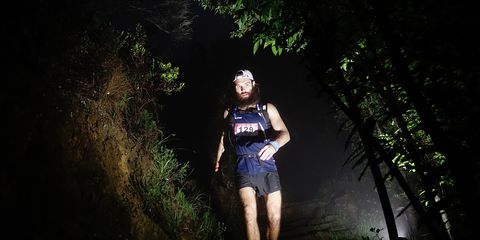 Ultrarunner Adam Kimble will attempt to run across the U.S. in 46 days or less.