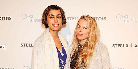 Crystal Moselle and Fazleet Aslam