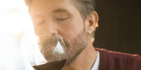 Smelly wine