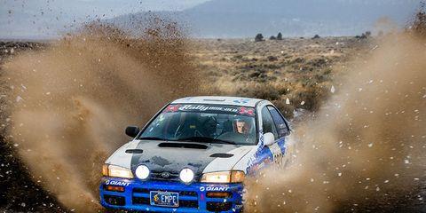 Carl Decker Rally Racer