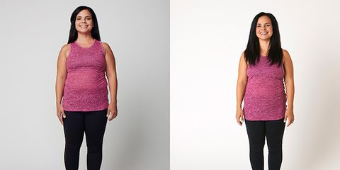 Cary Nazario on the Fit In 10 30-Day Belly Fix
