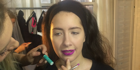 christina heiser new york fashion week model